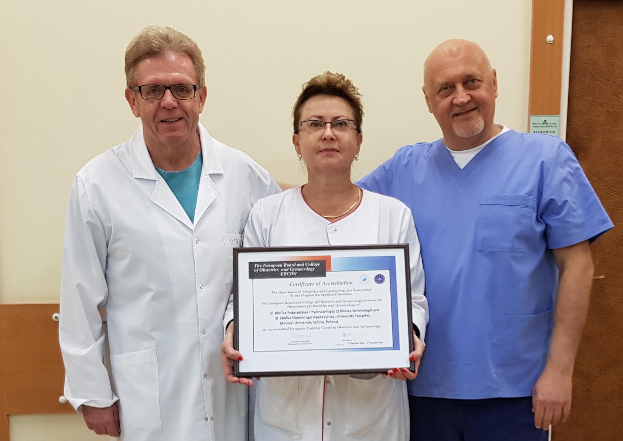 akredytacja standardów dla lecznictwa szpitalnego
